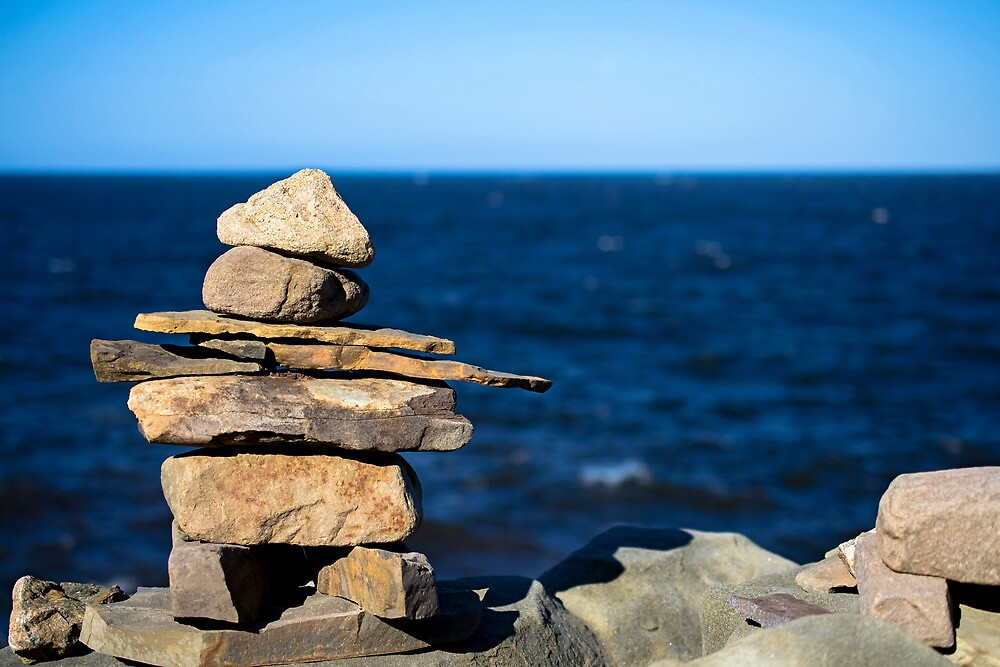 Inuksuk by TheCopaceticEye