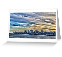 Downtown Halifax Greeting Card