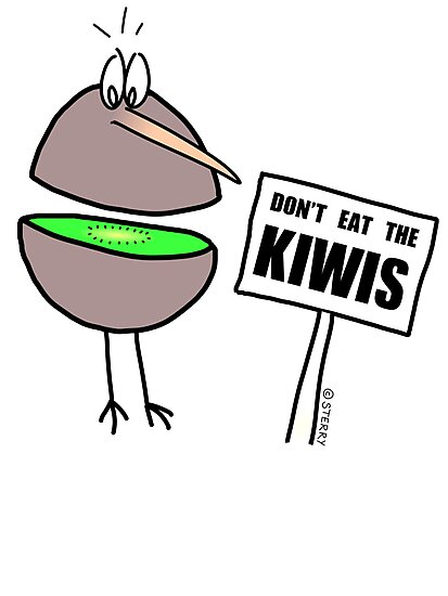 Don't Eat The Kiwis by Hannah Sterry