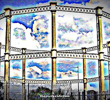 Gasometer by thepicturedrome