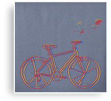Bike Cycle Canvas Print