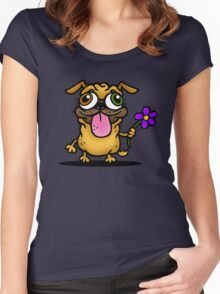 PUG PUG PUG Women's Fitted Scoop T-Shirt