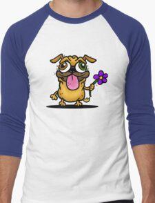 PUG PUG PUG Men's Baseball ¾ T-Shirt