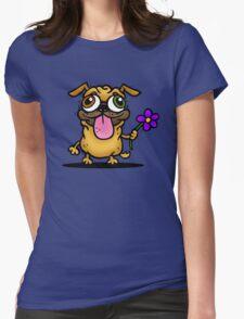 PUG PUG PUG Womens Fitted T-Shirt