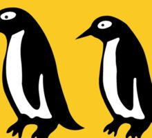 Penguins Crossing, Traffic Sign, New Zealand Sticker