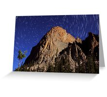 Elephant's Perch Startrails Greeting Card