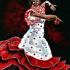 Poka dot and Flamenco by Anne Thigpen