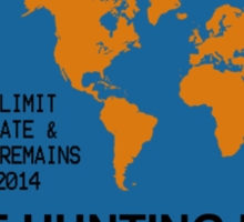 International Zombie Hunting Permit Sticker