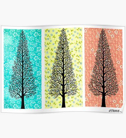 THREE TREES Poster