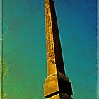 Sallustiao Obelisk, Spanish Steps by LaRoach