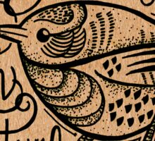 Trust in Nature Little Bird - Natural Sticker