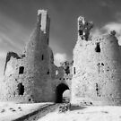 Dunstanburgh Castle in Infrared by Robin Whalley