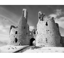 Dunstanburgh Castle in Infrared Photographic Print