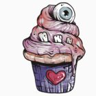 Eyeball Cupcake by Creep Heart