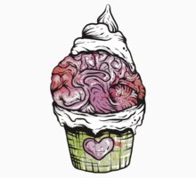 Brain Cupcake by Creep Heart