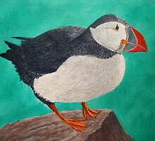 Huffin the Puffin by Gary Adams