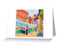 Daventry Market Greeting Card