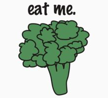 eat me. (broccoli) Baby Tee
