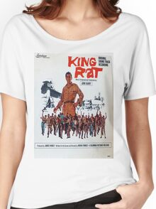 King Rat (1965 movie soundtrack album cover) Women's Relaxed Fit T-Shirt