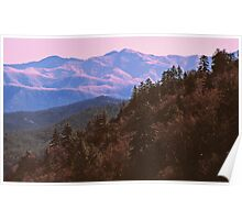SMOKY MOUNTAIN WINTER Poster