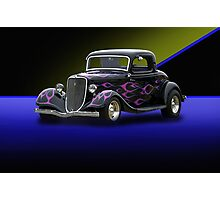 1934 Ford 3-Window Coupe Photographic Print