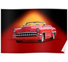 1954 Chevrolet Custom Bel Air Convertible Poster