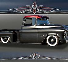 1956 Chevrolet Low-Rider Pick-Up by DaveKoontz