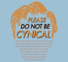 Please Do Not Be Cynical by Oskar Dahlbom