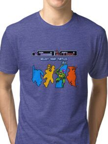 Turtles in Time - Donatello Tri-blend T-Shirt