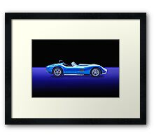 Lister - Cambridge Roadster w/o ID Framed Print
