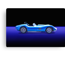 Lister - Cambridge Roadster w/o ID Canvas Print