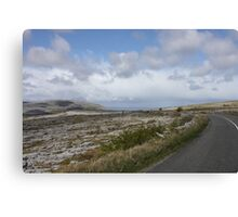 Stark Beauty: The Burren in County Clare, Ireland Canvas Print