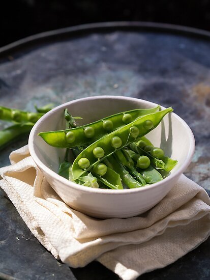 Fresh Peapods by Edward Fielding