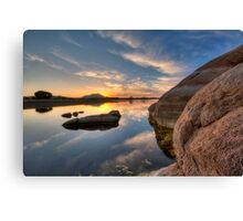 Solid Side Canvas Print