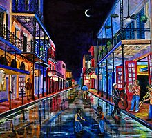 Music on Bourbon St. by tsita13