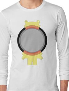 Hoverboard Yellow Radiation Suit Long Sleeve T-Shirt