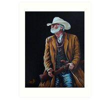 Big Swede~ The Gunslinger Art Print