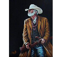 Big Swede~ The Gunslinger Photographic Print
