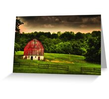 As Darkness Falls Greeting Card