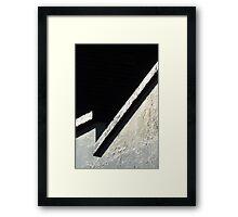 Zig ZAG Framed Print