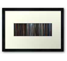 Moviebarcode: Star Trek IV: The Voyage Home (1986) Framed Print