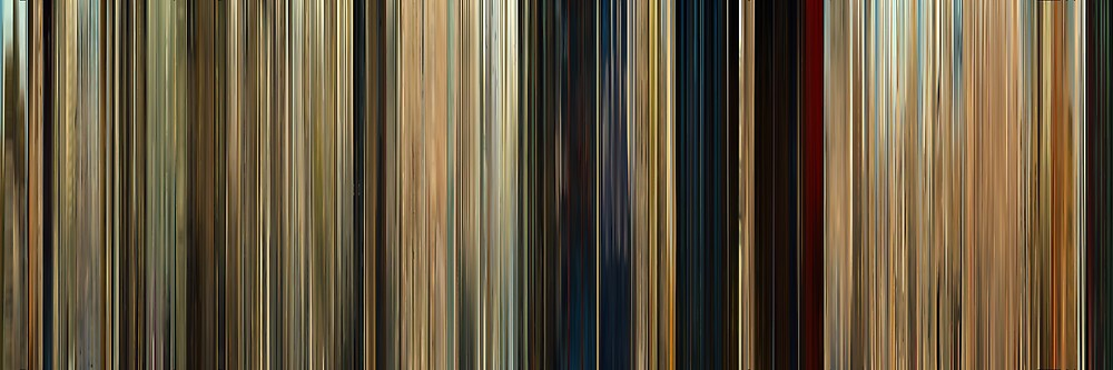 Moviebarcode: Seven Psychopaths (2012) by moviebarcode
