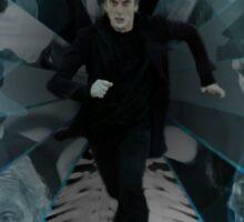 Doctor Who - Always Running Sticker