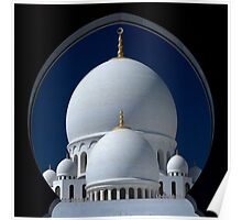 Sheikh Zayed Grand Mosque; Abu Dhabi  Poster