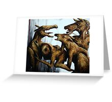 Horn Lake: Exile of the Second Coming (Large Scale Acrylic) Greeting Card