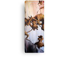 Horn Lake: Aquarium (Large Scale Acrylic) Canvas Print