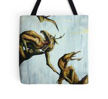 Horn Lake: My Baby Calf (Large Scale Acrylic) Tote Bag