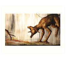 Horn Lake: Fence (Large Scale Acrylic) Art Print