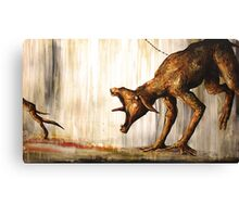 Horn Lake: Fence (Large Scale Acrylic) Canvas Print