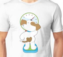 Puppy on Scale Unisex T-Shirt